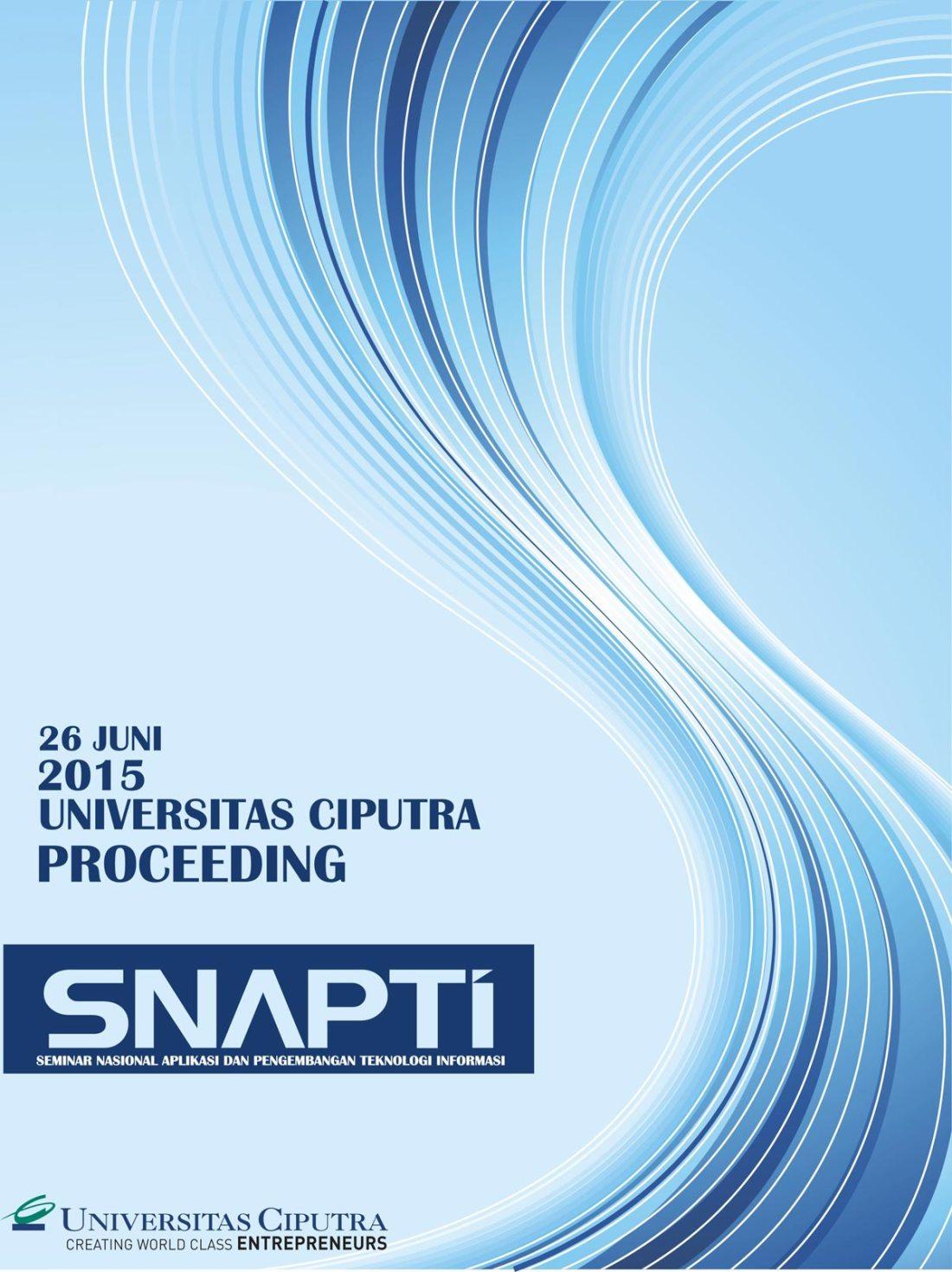 Cover Depan SNAPTI 2015