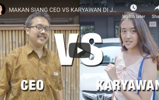 CEO vs Karyawan: source: Youtube Channel Raditya Dika