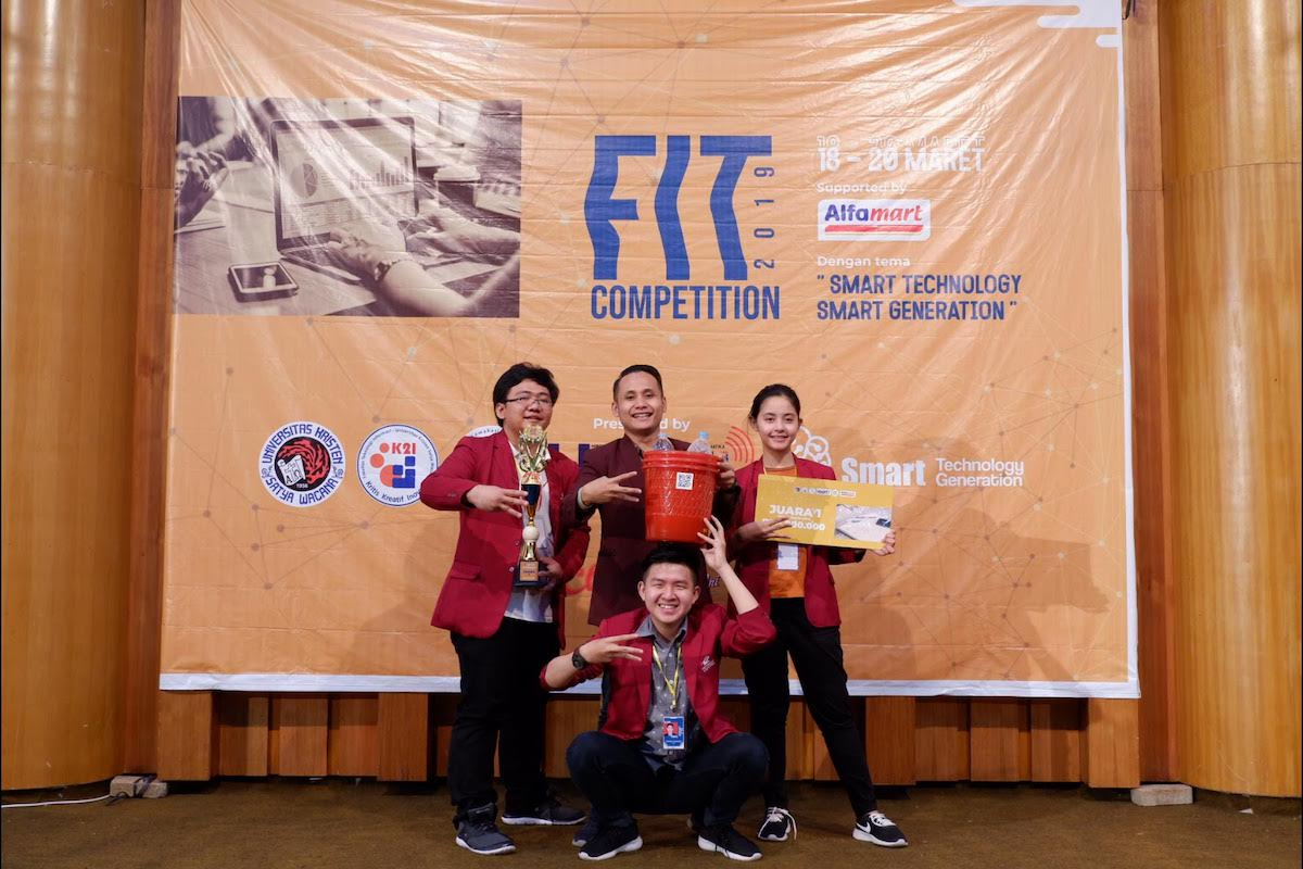 The Winning Team Informatika Universitas Ciputra