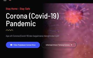Corona website, https://corona.uc.ac.id, developed by: Stephanus Eko Wahyudi (Informatika UC)