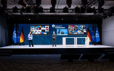 La soutenabilité du journalisme au coeur des préoccupations de l'Alliance pour le multilatéralisme