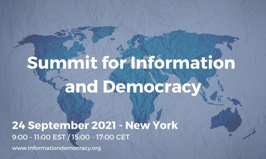 New York summit sees launch of the International Observatory on Information and Democracy