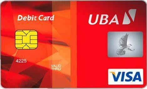 cost of uba atm card