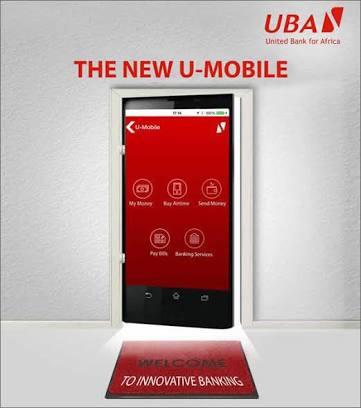 UBA U-Mobile app