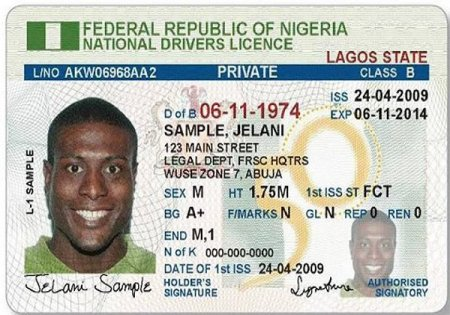 Lagos State Driver's Licence