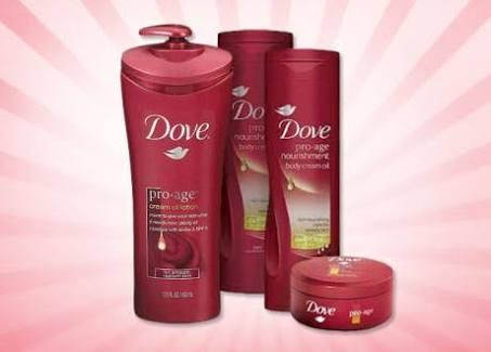 Dove Pro-Age Body Cream Oil
