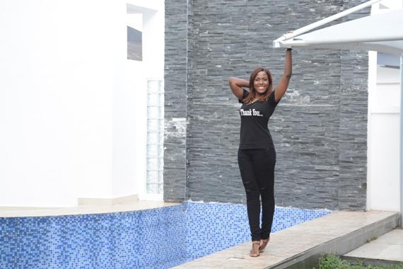 Linda ikeji and her house