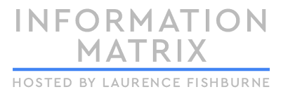 Information Matrix Laurence Fishburne logo