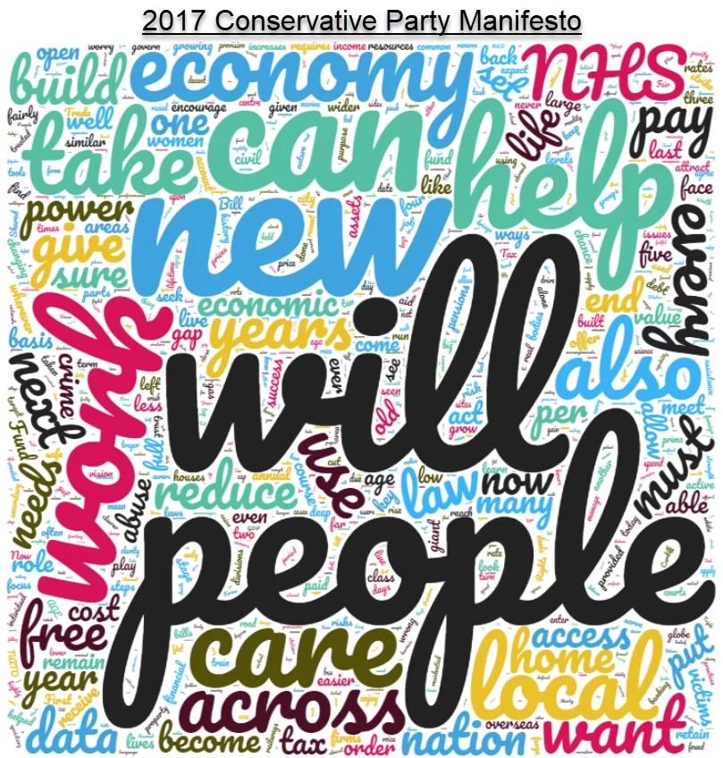 conservative party 2017 manifesto