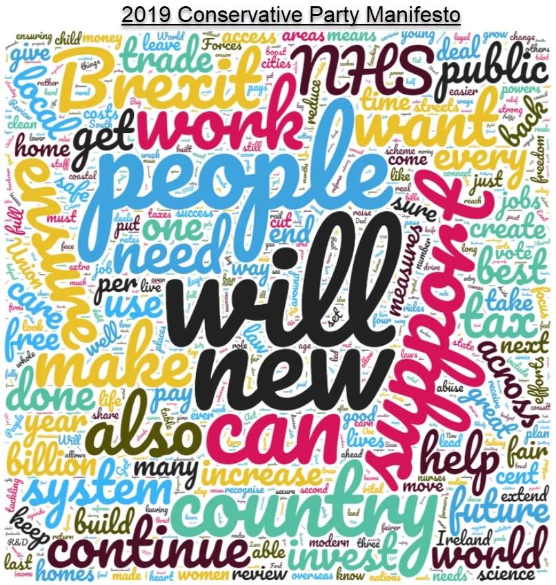 conservative party 2019 manifesto