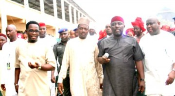 LABARAN MAKU ON ONE OF HIS NUMEROUS GOOD GOVERNANCE TOUR TO IMO STATE