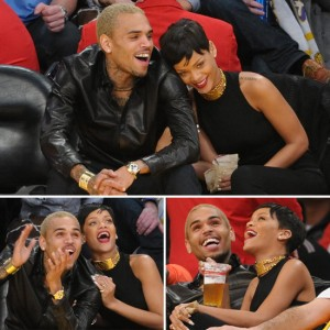Rihanna-Chris-Brown-Lakers-Game-Christmas-Day-Pictures