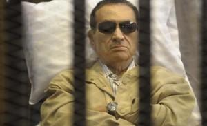Mubarak in jail