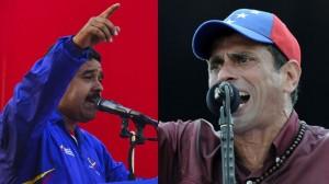Nicolas Maduro, Henri Capriles