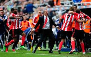 Di Canio Celebrates with his Players