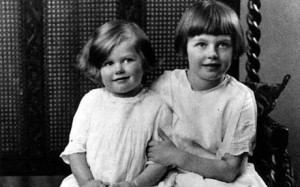 Margaret with Sister, Muriel