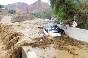 Oman flood