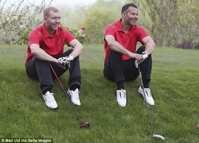 Scholessy and Gigssy Trying Out Golf.