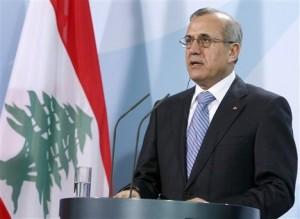 President of Lebanon, Michel Suleiman