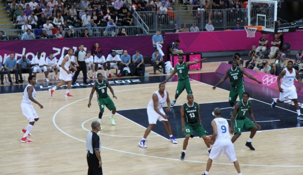 D'Tigers at the London 2012 Games.