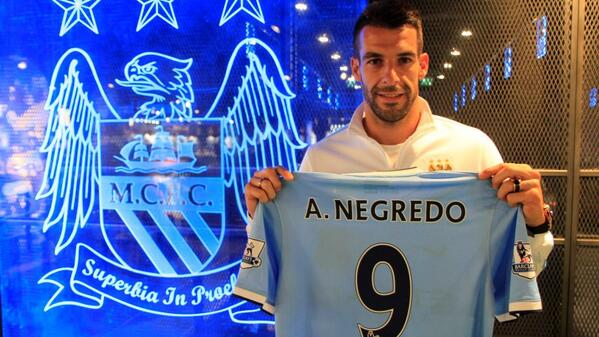 New Addition: Alvaro Negredo.