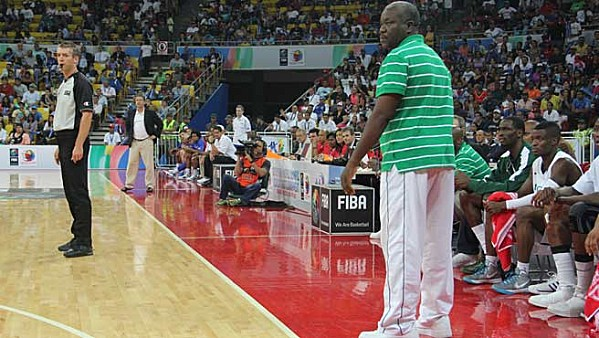 Coach Ayo Bakare of D'Tigers.