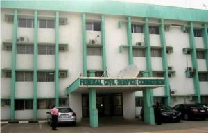 Federal Civil Service Commission (FCSC) logo