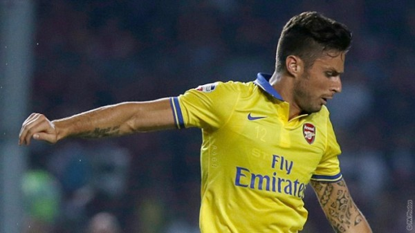 Olivier Giroud Completes a 5 Goal Tally in Vietnam in Arsenal's Tour of the South-East.
