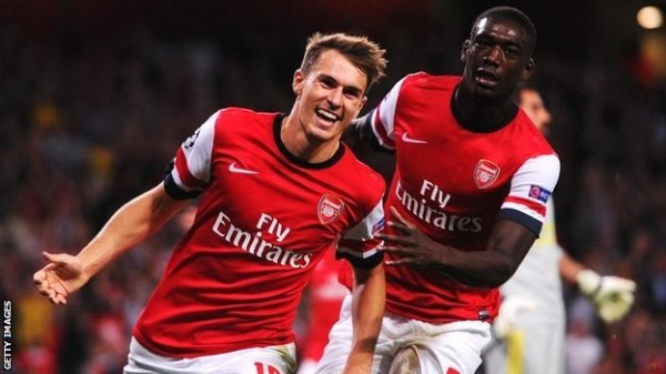 After Struggling With Injury Last Season, Aaron Ramsey Has Had a Positive Start to the 2013/14 Season.