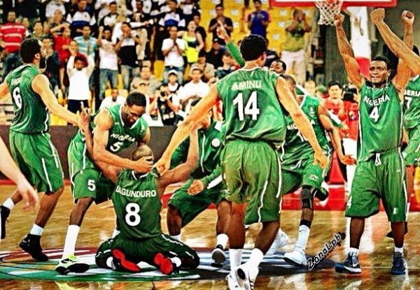 D'Tigers Celebrates Qualification For London 2012.