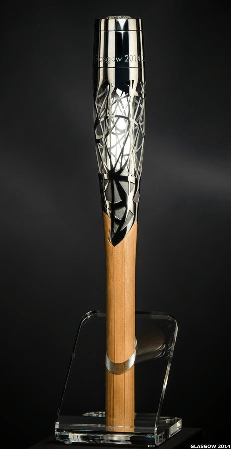 Glasgow 2014: Queen's Baton Design Unveiled.