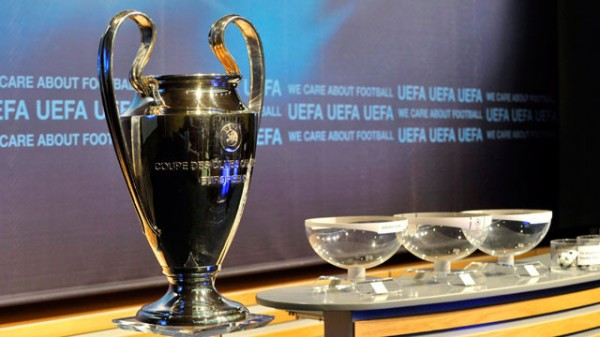 Uefa Champions League Play-Off Round Draw.