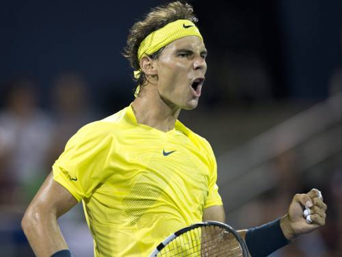 Rafael Nadal Through to the Rogers Cup Final.