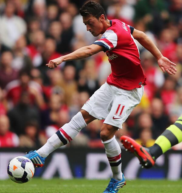 Ozil has Given More Assists Than Any Other Premier League Player This Season. Five Assists.