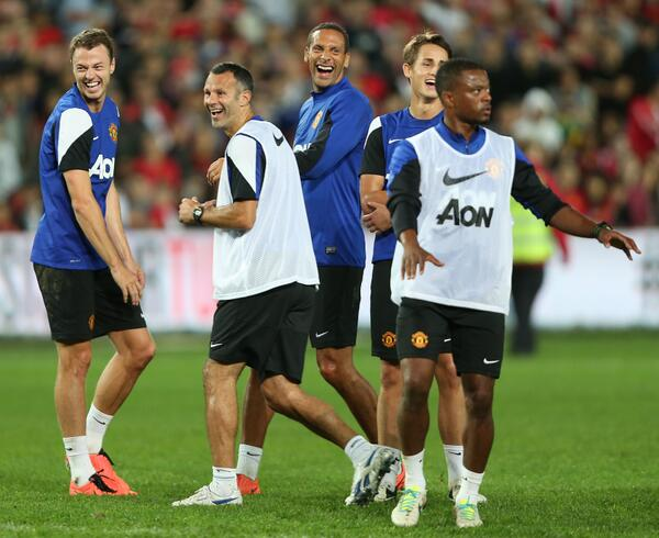 Ryan Giggs the Last of the 'Class of 92' Still Raring to Go.