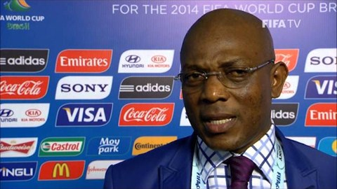 Stephen Keshi Says No Minnows at the World Cup.