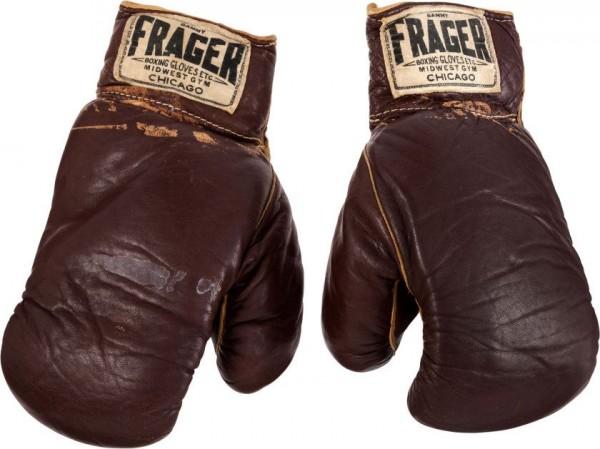 The Gloves Muhammad Ali Won When He Defeated Sonny Liston.