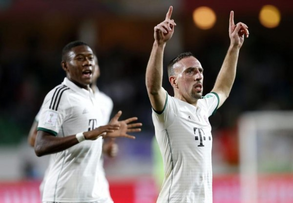 Ribery Will Not Feature Against Arsenal at the Emirate Stadium.