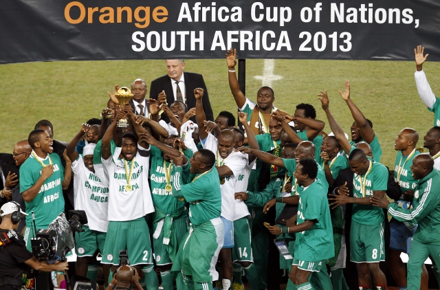 The Super Eagles Clinched Their Third Afcon Title in South Africa in February 2013.