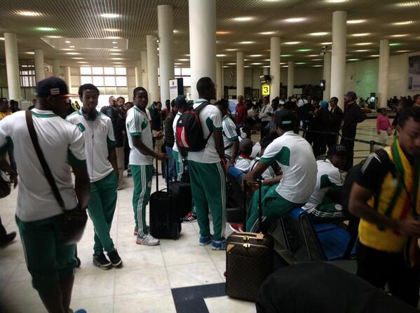Super Eagles are Expected to Touch Down at the Murtala Mohammed international Airport Today in Lagos.