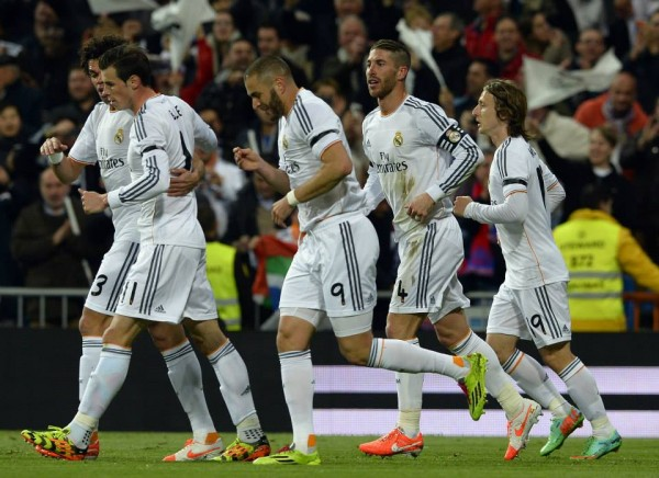 Karim Benzema Leveled for Real on 20 Minutes. AFP.