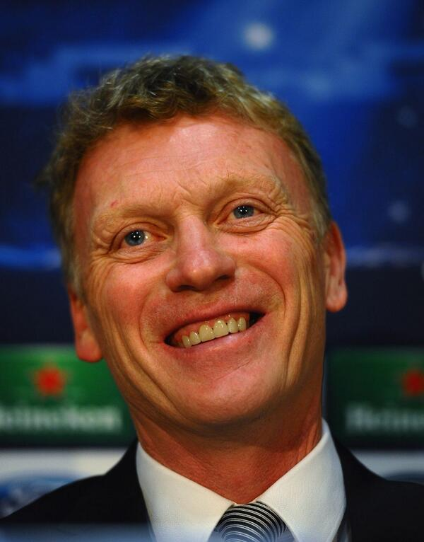David Moyes Confident Ahead of United Tie With Bayern.