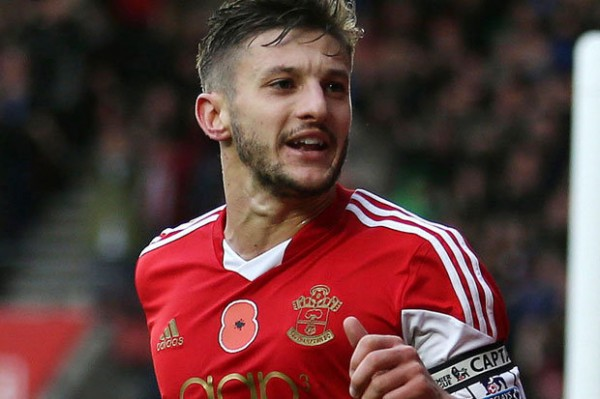 Adam Lallana Set to Exit St. Mary's This Summer.