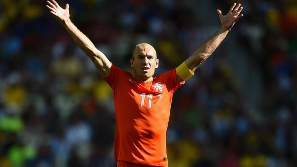 Arjen Robben Apologised for Diving After the Netherlands' Progress at the Expense of Mexico. Image: Fifa via Getty Image.