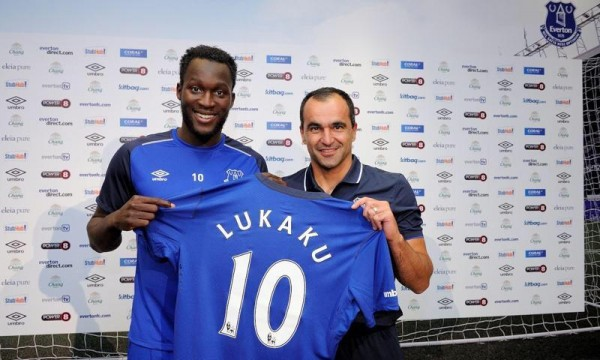 Romelu Lukaku Joins Everton from Chelsea for a Club-Record Fee. Image: Everton.