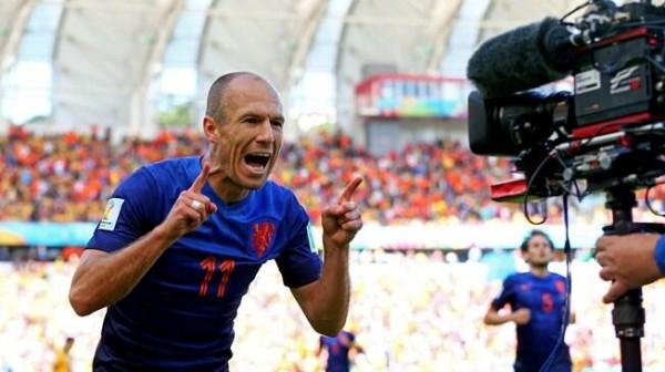 Arjen Robben is Among the Final Shortlist for the Uefa Best Player Award. Getty Image.