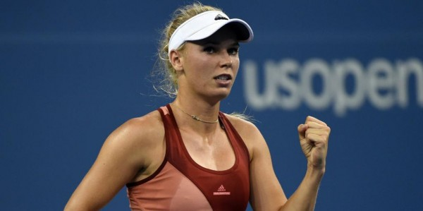 Caroline Wozniacki Through to the Semi-Finals of a Grand Slam for the First Time in Three Years. Image: AFP/Getty