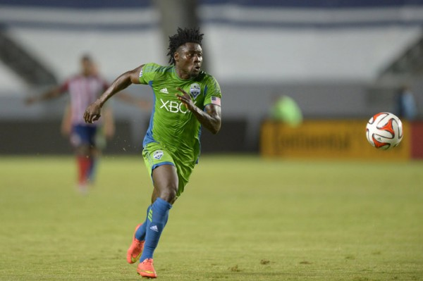 Obafemi Martins Has Now Scored 15 Goals in the Ongoing 2014 MLS Season. Image: Kirby Lee-USA TODAY Sports.