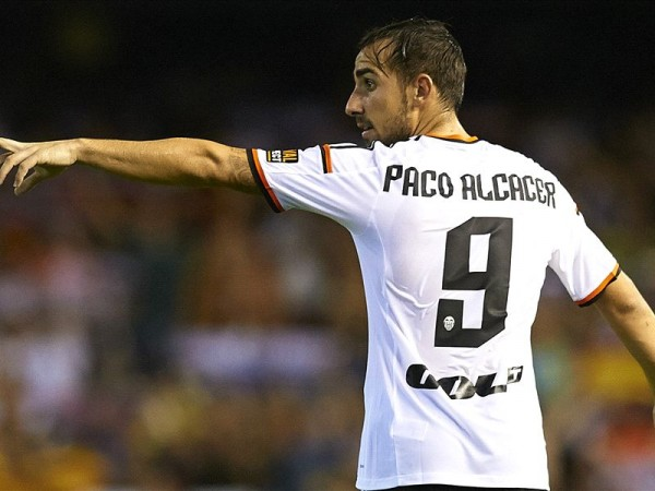 Valencia's Paco Alacer Was on Target in Thursday's 3-0 Win Over Cordoba.