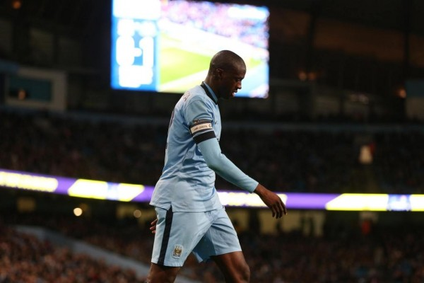 Yaya Toure Is Expected to Play in the Manchester Derby Despite a Groin Complaint. Image: MCFC Via Getty.